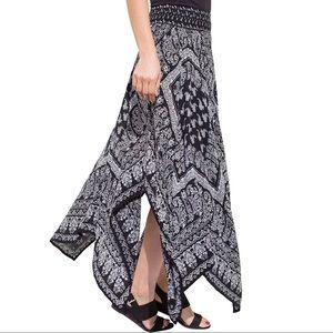Westport 1962 Bohemian Handkerchief Hem Skirt